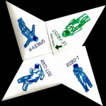 the second CD by the Robot Hip Hop collective 8 Bit. Hand made origami cover. Mastered at Catasonic