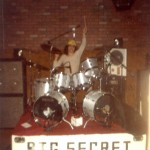 Big Secret, Brock's first band out of Hi School Seattle mid 1970's