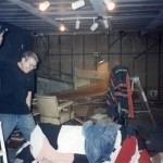 Mark Tears down the old rec room