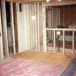 Insulation on the Control Room Floor