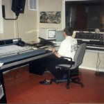 Mark at work in new Control Room