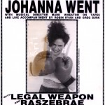 Johanna Went Knifeboxing at The Club Lingerie with Legal Weapon and Raszebrae