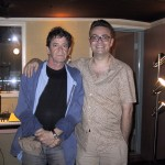 Lou Reed and David Sefton