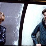 Mark and Brock at the Empire State building during the Chinas Comidas tour 1978