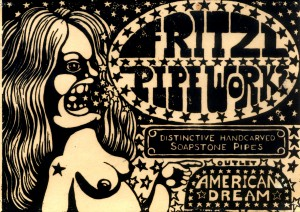 Fritzl Pipeworks woodblock by Carl Smool