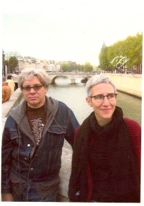 Mark and Weba in Paris